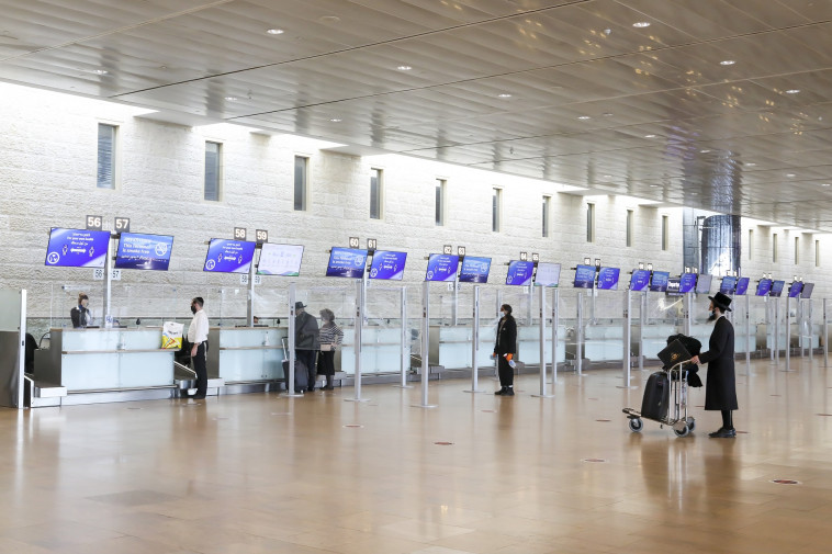 Ben Gurion Airport is empty (photographers have no connection to the article) (Photo: Mark Israel Salem)