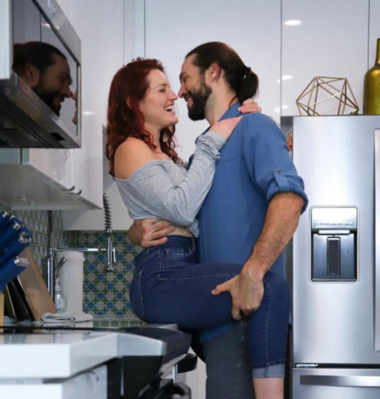 הזוג מיסטי וג'יימס (צילום: רשתות חברתיות)