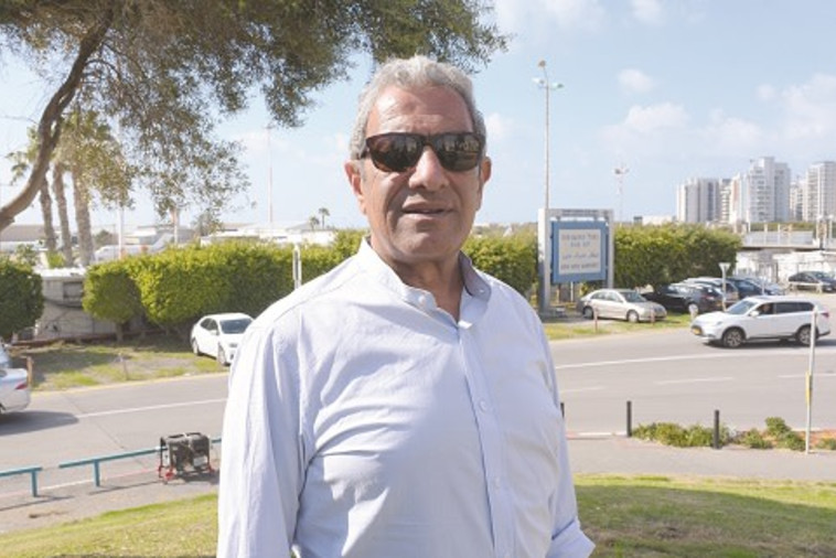 מאיר יצחק הלוי ראש עיריית אילת (צילום: אבשלום ששוני)