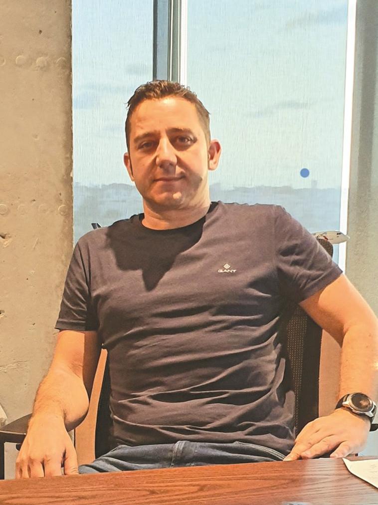ארז בוסו, מנכ''ל סמארטאייר (צילום: יחצ)