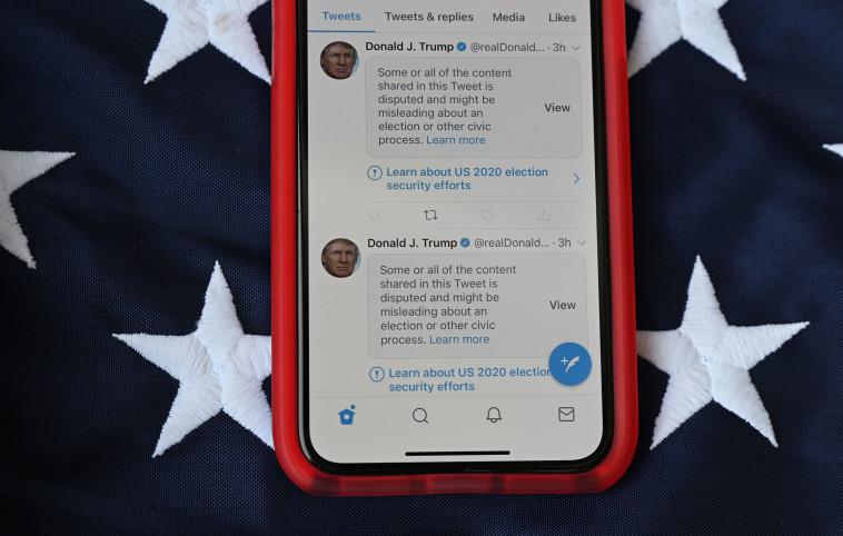 הצנזורה על טראמפ (צילום: gettyimages)