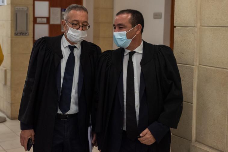 עורכי הדין ז'ק חן ובועז בן צור (צילום: שלו שלום, פול)