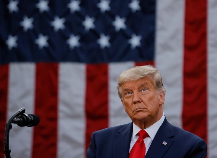 דונלד טראמפ (צילום: REUTERS/Carlos Barria)