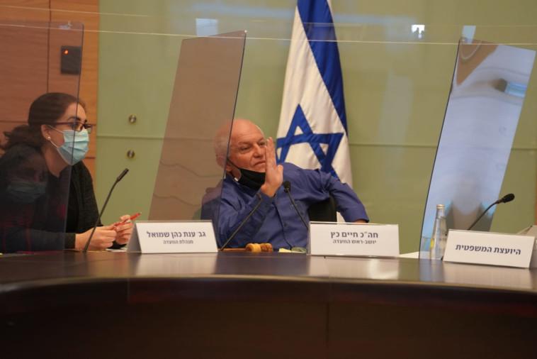 ח''כ חיים כץ בוועדת העבודה (צילום: דוברות הכנסת, דני שם טוב)