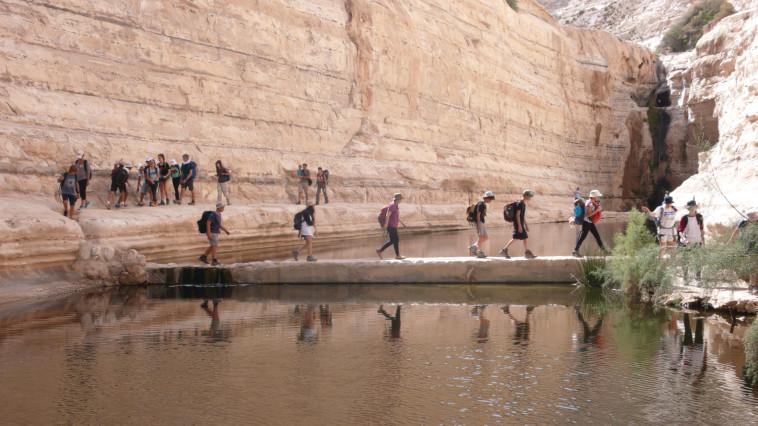 פעילות התיכון לחינוך סביבתי (צילום: Eratos the nes of Alexandria)