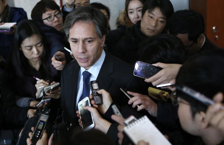 טוני בלינקן (צילום: REUTERS/Kim Hong-Ji)