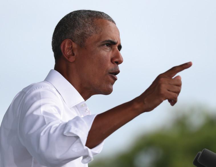 ברק אובמה (צילום: Joe Raedle/GettyImages)