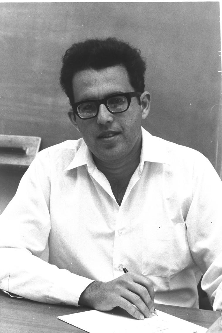 חיים הררי 1973 (צילום: פריץ כהן, לע''מ)