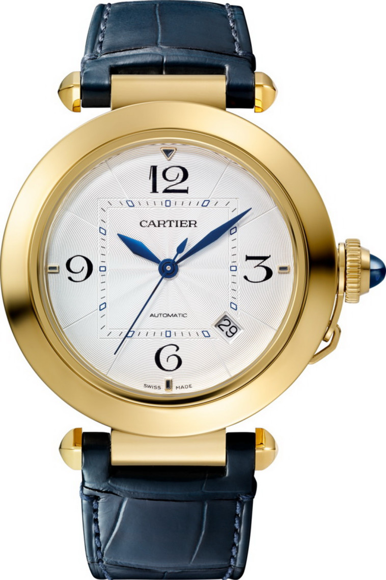 שעון לגבר מקולקציית Pasha של קרטייה, פדני. מחיר: 73,380 שקלים. צילום: יח''צ (צילום: יח''צ)