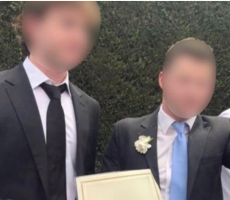 שני החברים שהתחתנו כדי לארגן מסיבה גדולה (צילום: רשתות חברתיות)