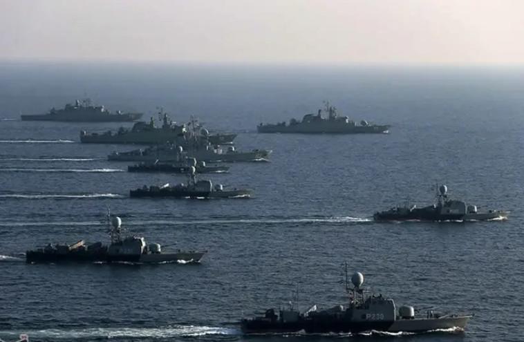 ספינות חיל הים האיראני (צילום: Wikimedia Commons)