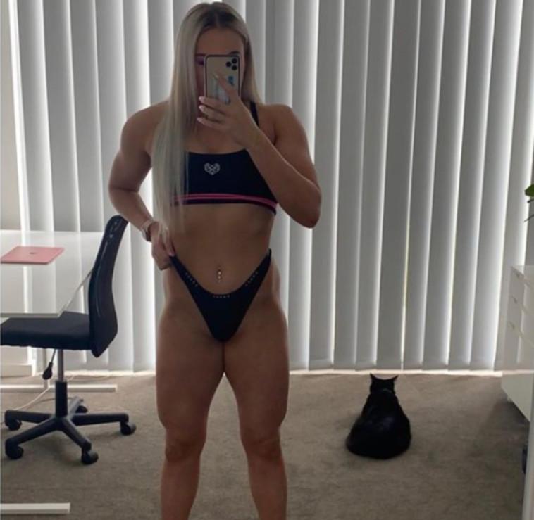 השרירנית מליסה גודווין  (צילום: רשתות חברתיות)