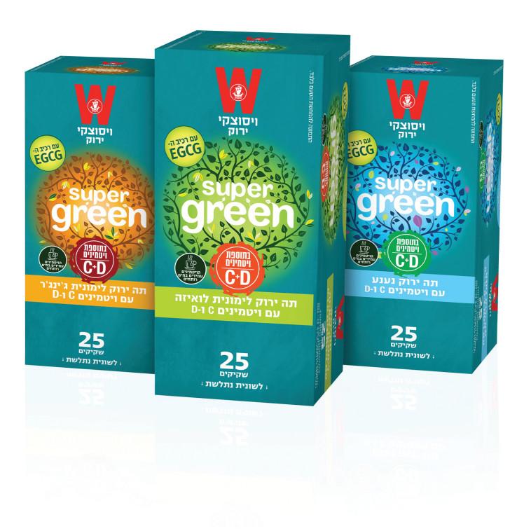 סדרת ''super green'' מבית ויסוצקי (צילום: ברוך נאה)