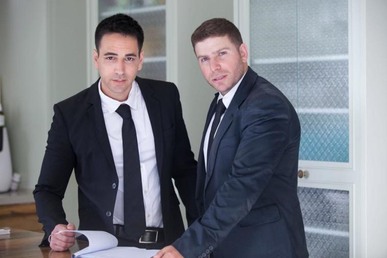 עורכי הדין צביקה הופמן וערן רוז (צילום: יחצ)