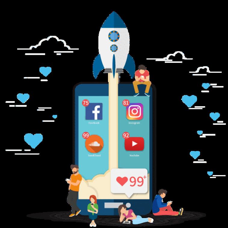 DigitalBoost - קידום ברשתות החברתיות (צילום: Shutterstock)