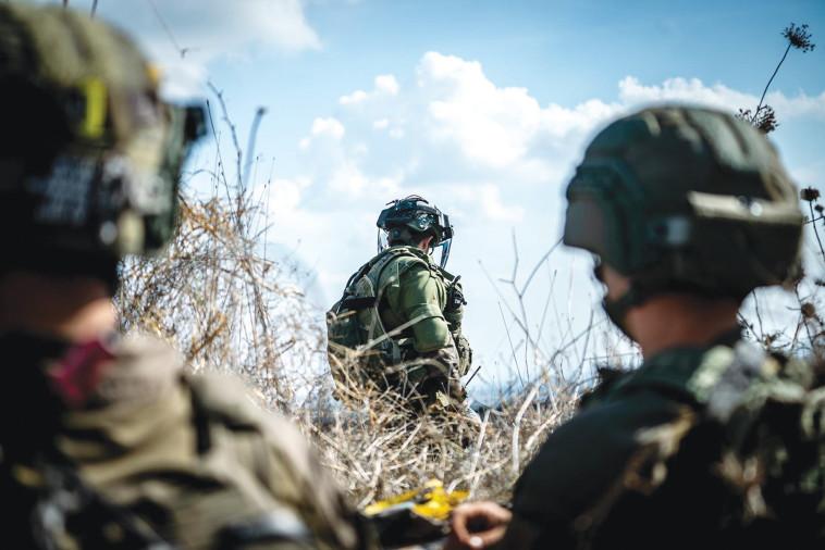 פעילות כוחות צה''ל (צילום: דובר צה''ל)