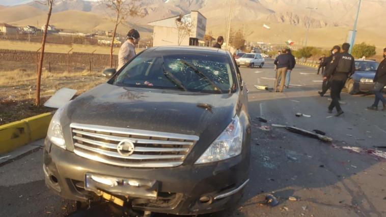 חיסול ראש תוכנית הגרעין האיראנית (צילום: WANA (West Asia News Agency) via REUTERS)