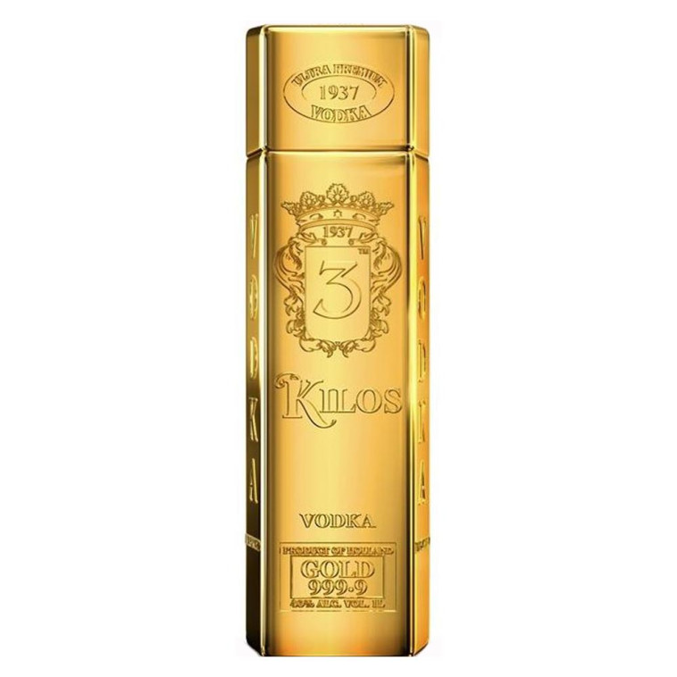 vodka 3 kilos gold (צילום: יח''צ)