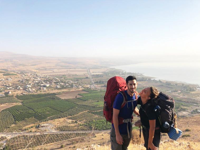 נועה גרומן וגיל אשורי  (צילום: פרטי)