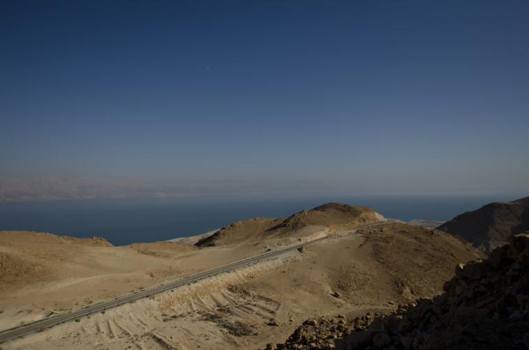 נחל דרגה במדבר יהודה (צילום: הדר יהב)