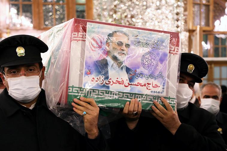 מדען הגרעין האיראני (צילום: רויטרס)