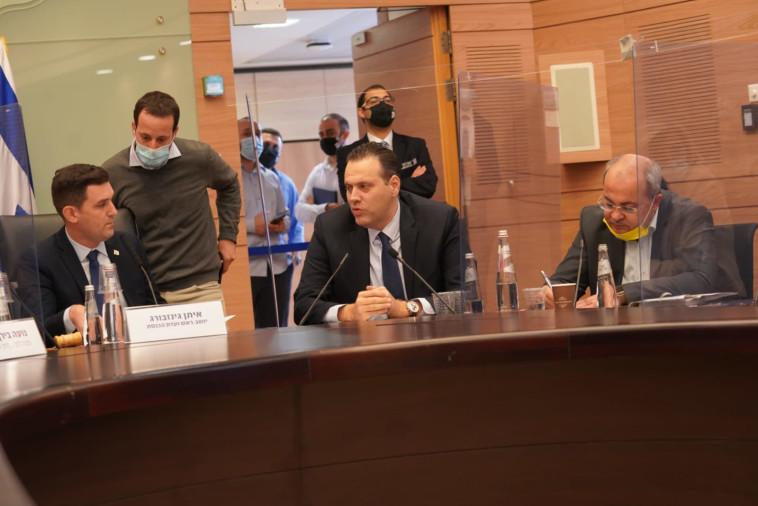 מיקי זוהר ואיתן גינזבורג בדיון (צילום: דוברות הכנסת)