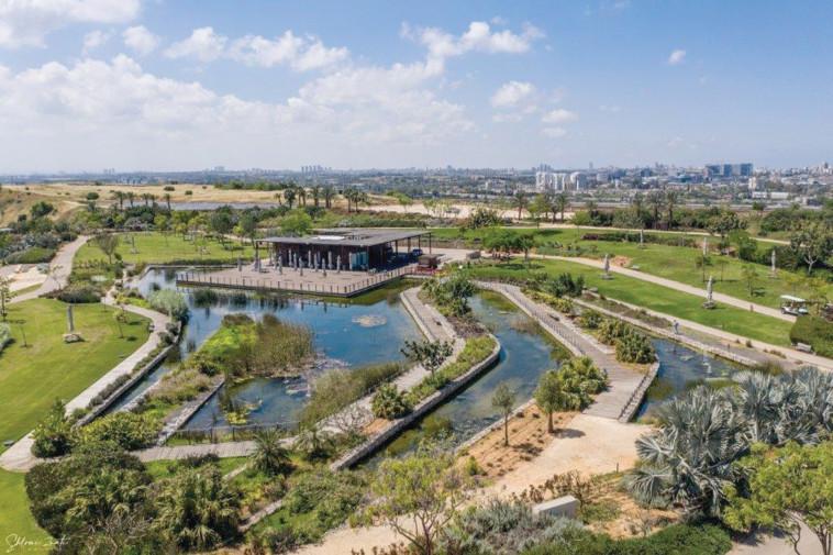 הפנינג חנוכה בפארק אריאל שרון (צילום: שלומי זנאתי)