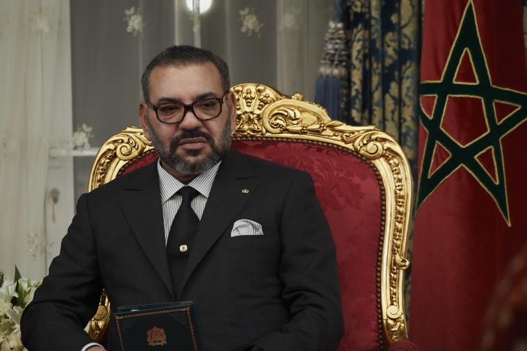מלך מרוקו מוחמד השישי (צילום: gettyimages)
