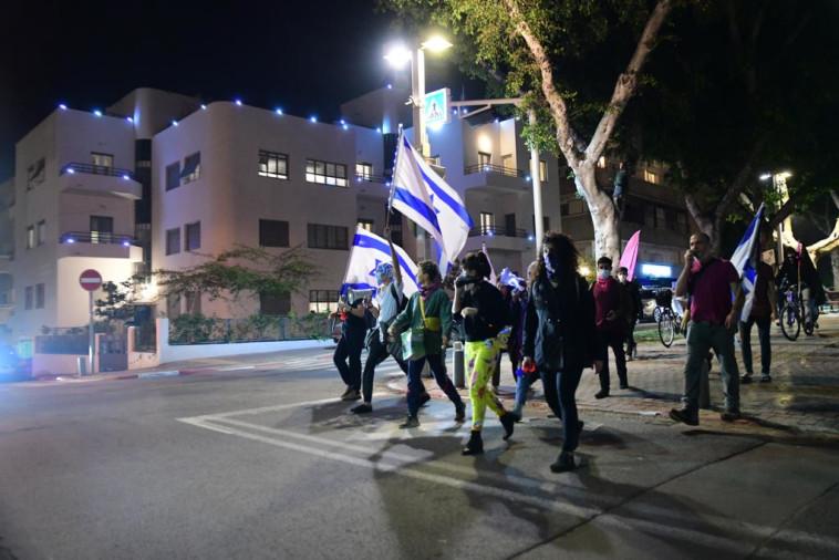 ההפגנות נגד נתניהו בתל אביב (צילום: אבשלום ששוני)