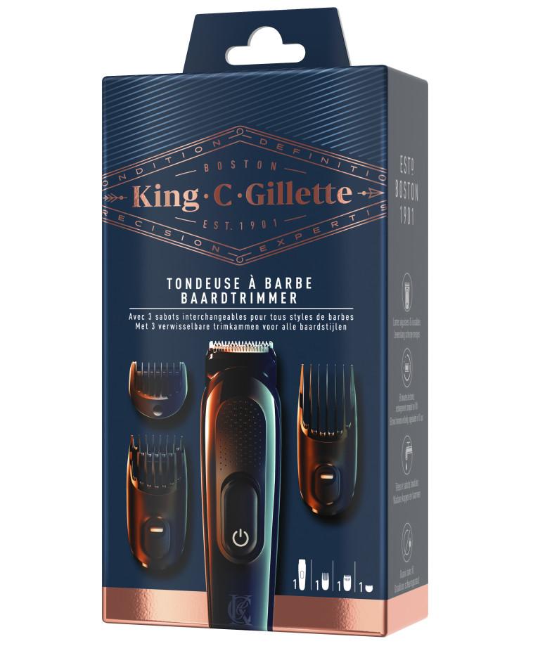 מעצב זקן מסדרת King C. Gillette, ג'ילט (צילום: יח''צ)