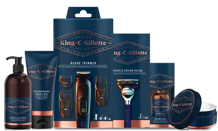 סדרת מוצרים לעיצוב וטיפוח הזקן King C. Gillette, ג'ילט (צילום: יח''צ)