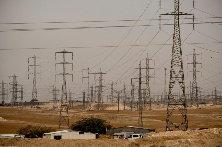 תחנת החשמל רמת חובב (צילום: יניב נדב, פלאש 90)