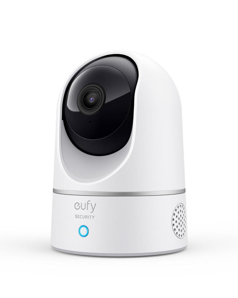 מצלמת אבטחה - Eufy Indoor Cam 2K Pan and Tilt (צילום: יח''צ)