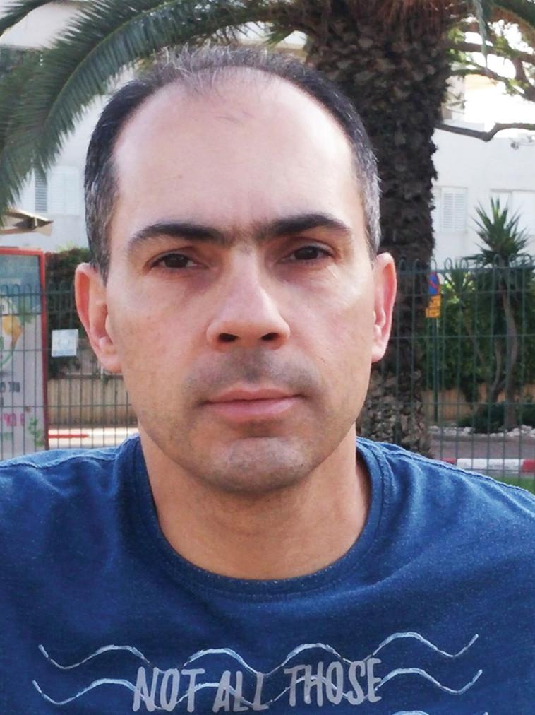 יניב בלייכר, עומד בראש עמותת ''אזרחים למען אוויר נקי'' (צילום: אלבום פרטי)