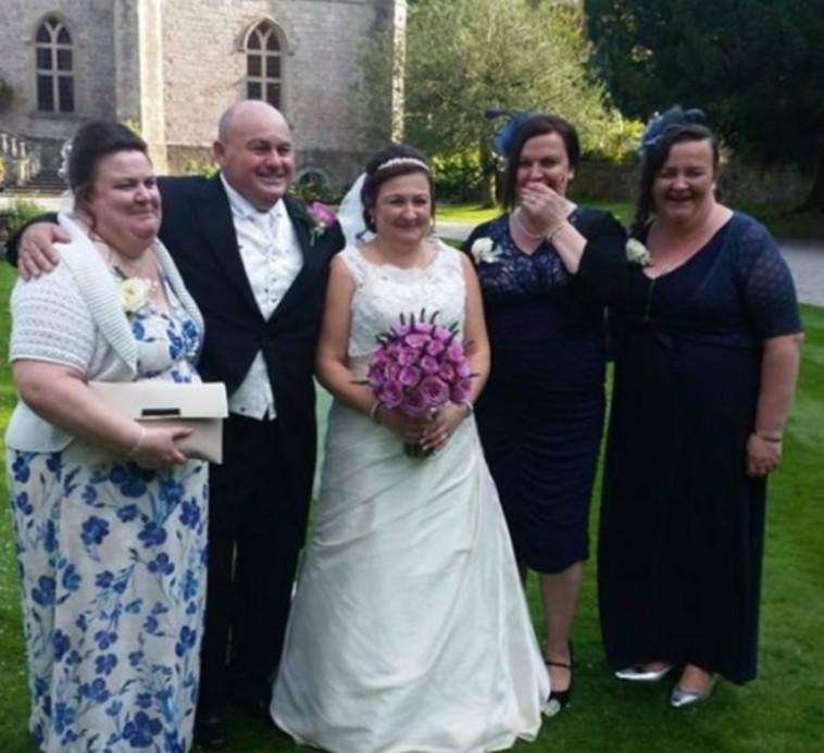 מתוך החתונה של בקי ובלו פרייס (צילום: רשתות חברתיות)