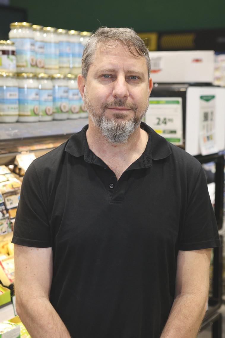 רוני גרין, מנהל המכירות ומועדון הלקוחות ברשת טיב טעם (צילום: אסף לב)