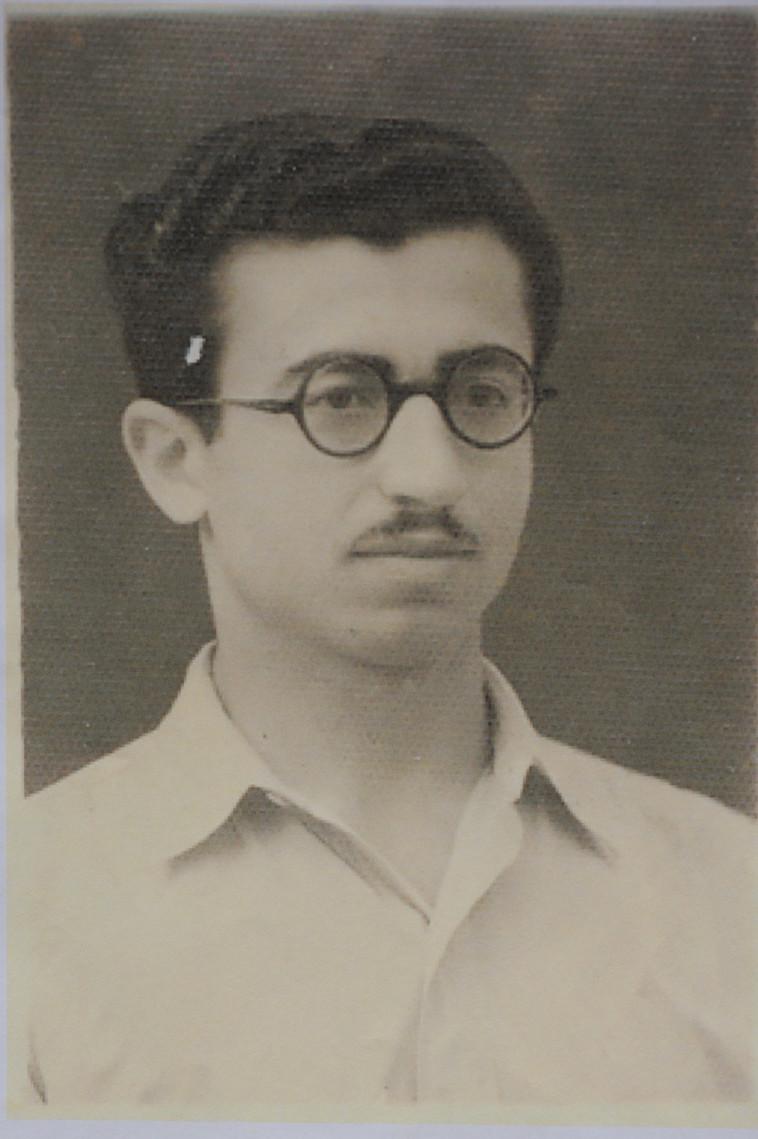 יצחק שושן (צילום: ראובן קסטרו, רפרדוקציה)