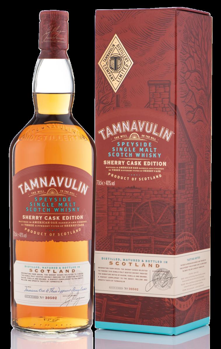 וויסקי TAMNAVULIN SHERRY CASK FINISH, טמנווילין. מחיר: 159 שקל (צילום: אסף לוי)