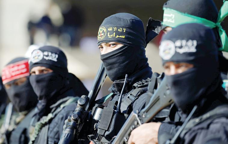 פעילי חמאס ברצועת עזה, ארכיו (צילום: רויטרס)