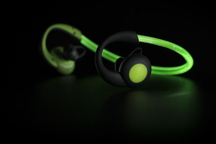 אוזניות אלחוטיות Sportpods Vision של חברת Boompods (צילום: יח''צ)