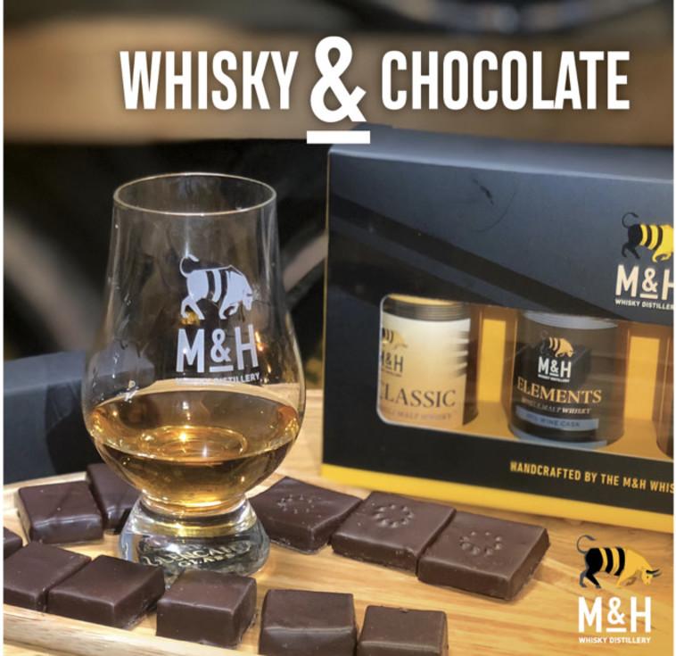 מזקקת Milk & Honey _ וויסקי ושוקולד  (צילום: פייסבוק)