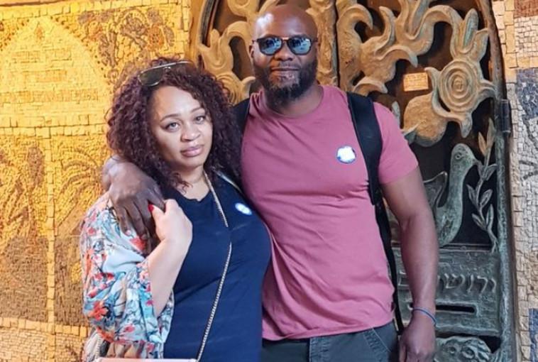 הזוג, ג'וזף ואדז'ה (צילום: רשתות חברתיות)