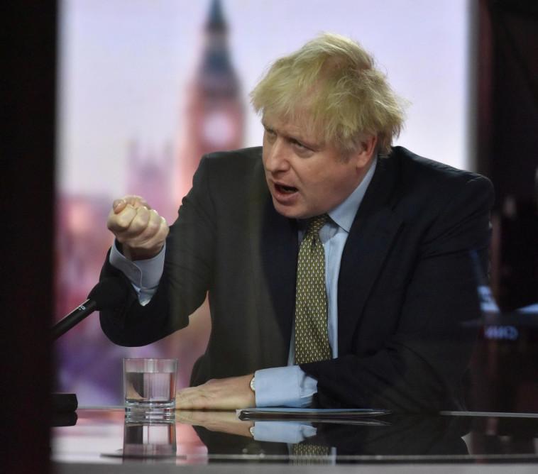 בוריס ג'ונסון (צילום: JEFF OVERS/BBC)