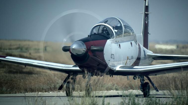מטוס חיל האוויר (צילום: אלביט מערכות)