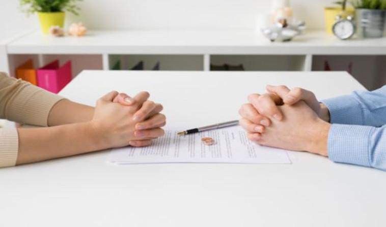 הסכם גירושין (צילום: Shutterstock)