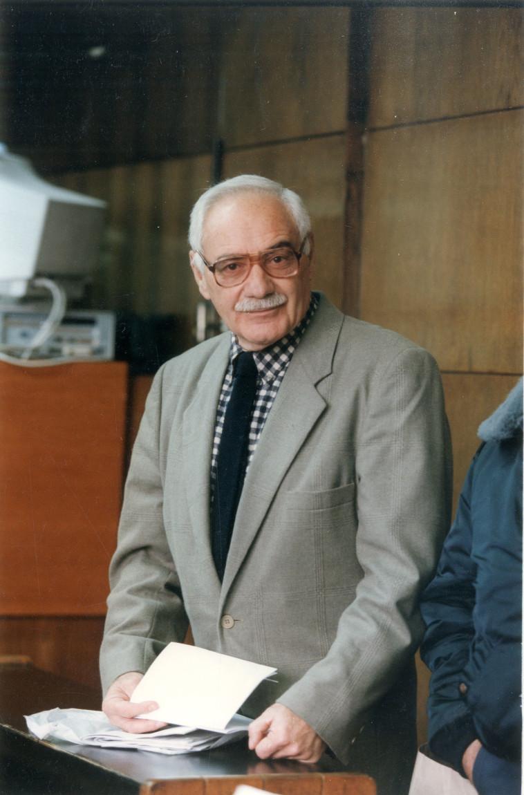 יהודה גיל ב-1997 (צילום: ברקאי וולפסון)