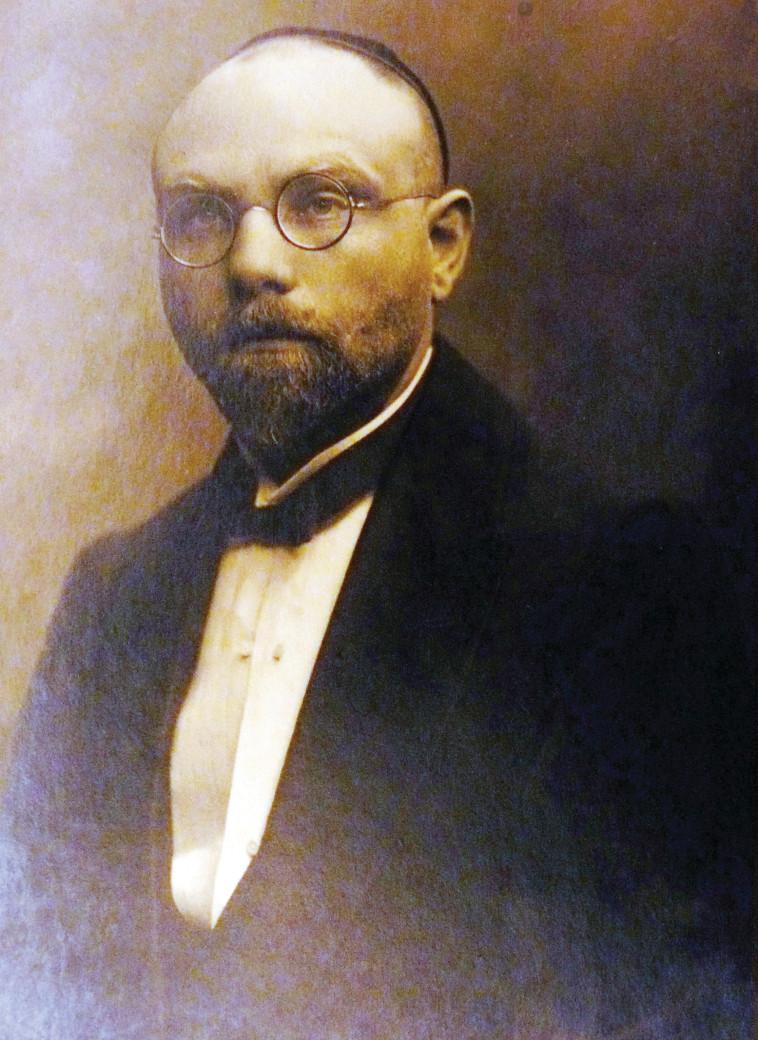 יעקב דה האן, פורטרט (צילום: מתוך ארכיון ד''ר משה ולאך, מייסד ביה''ח שערי צדק בירושלים)