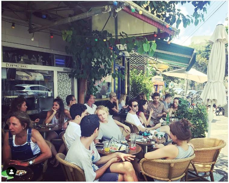 קפה מרסנד (צילום: צילום מסך מתוך אינסטגרם)
