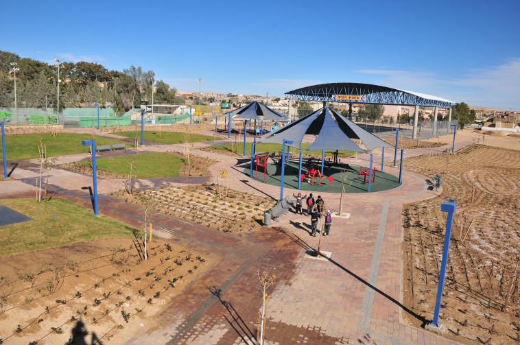 פארק אקסטרים בדימונה (צילום: לשכת הדובר - מרכז תקשורת דימונה)