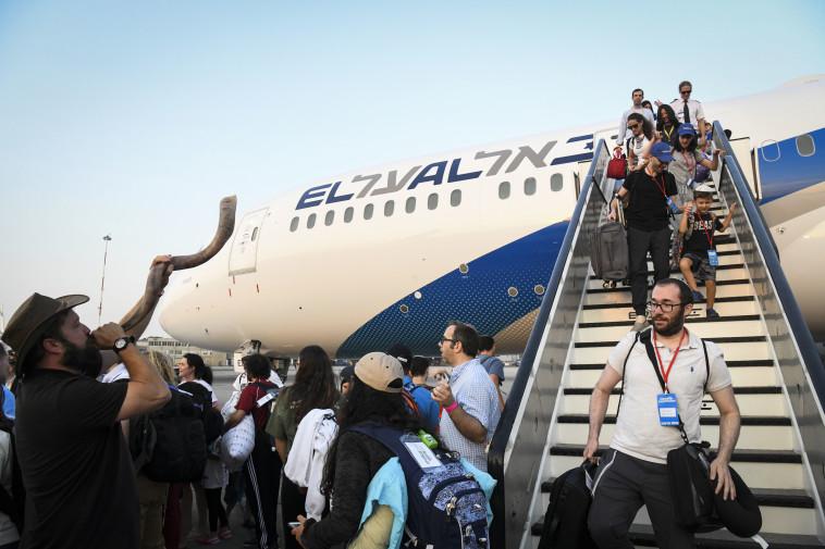 עלייה לישראל (צילום: פלאש 90)